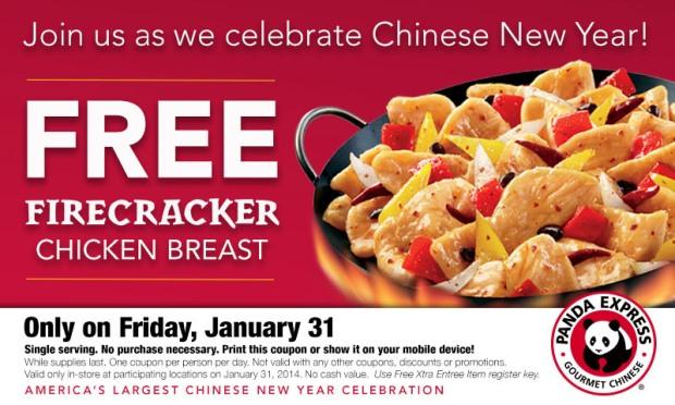 Free Panda Express Food