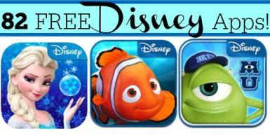 FREE Disney Apps