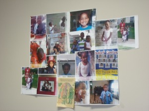 Check out Eddie's photo wall...He loves his kiddos!