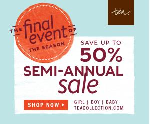 tea 50% off event