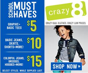 Crazy 8 BTS Sale