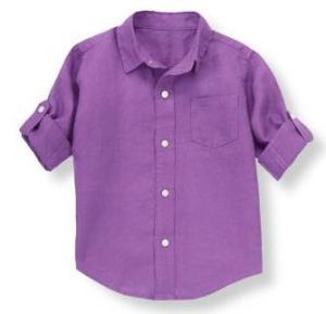 Linen Roll Cuff Shirt