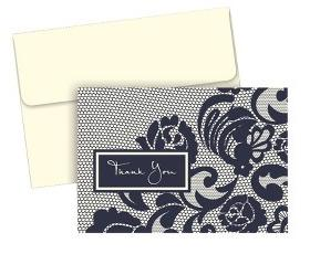 HBH Lovely Lace Thank You Cards