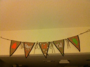 It's Fall Ya'll Burlap Banner from Hobby Lobby_10-9-2014