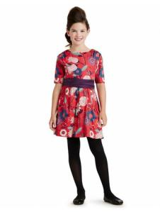 Elfengarten Sateen Sash Dress