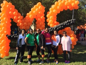 MS Walk 2014 Race Completion Pic