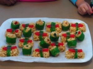 Sushi Rice Krispies Treats