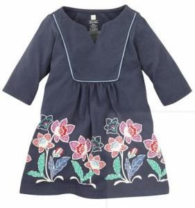 Java Garden Keyhole Dress_Tea Collection