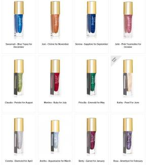 Julep Birthstone Nail Polish Collection