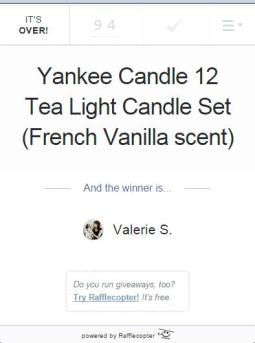 Yankee Candle Giveaway 2014
