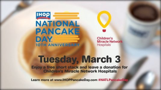 IHOP, National Pancake Day